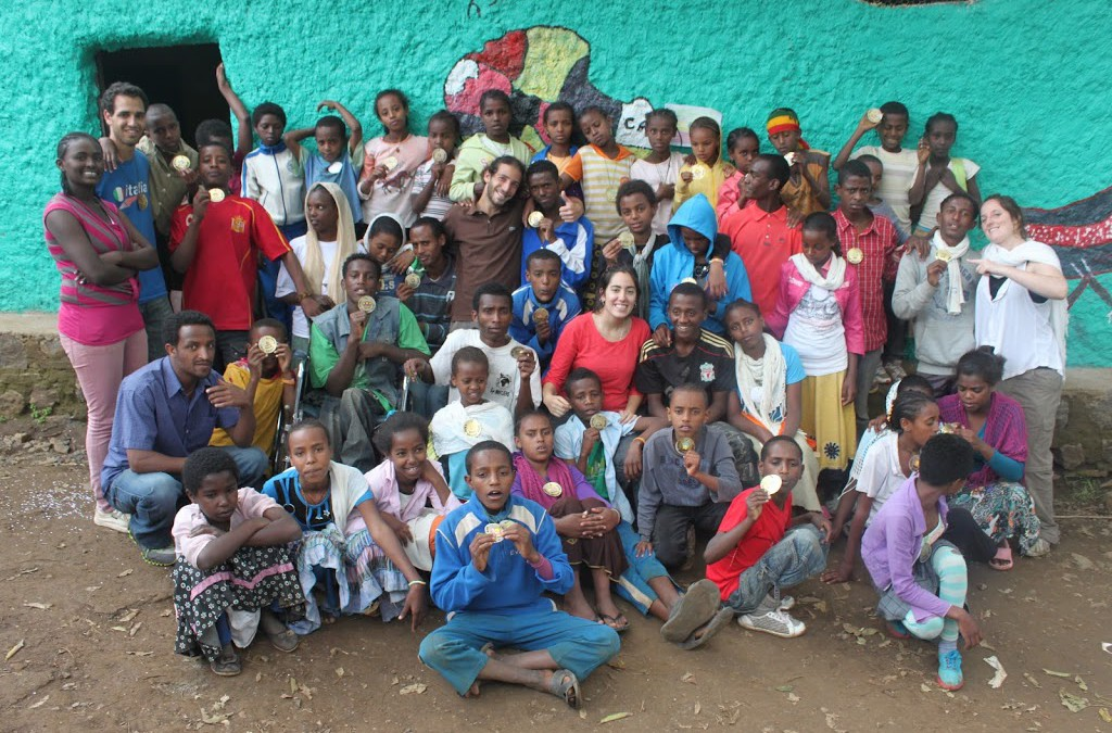Yenege Tesfa and Project T.E.N join forces for an outstanding summer camp!