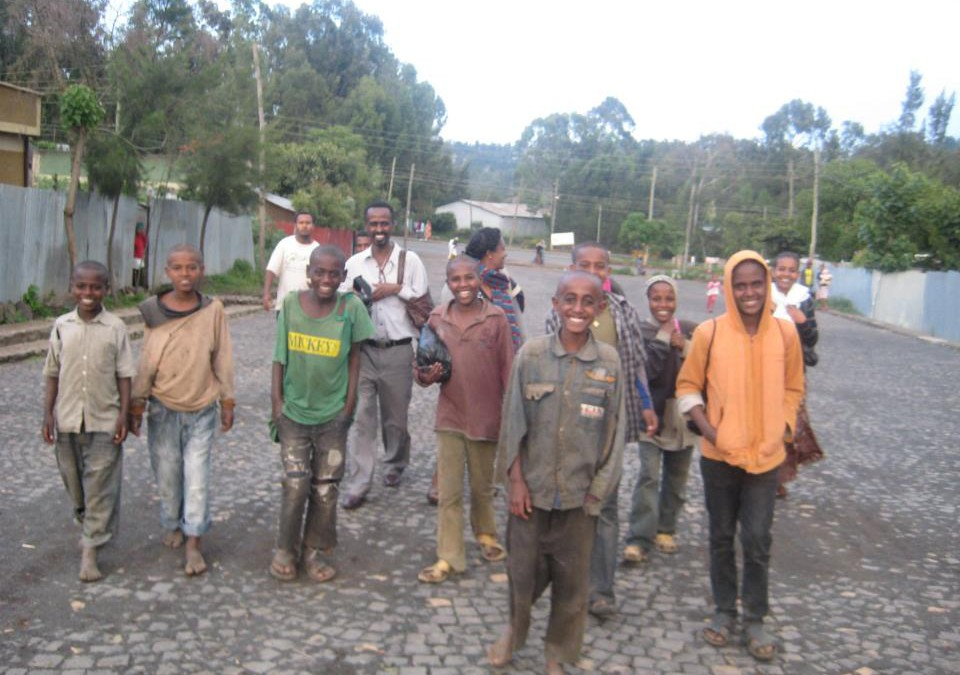 Yenege Tesfa established a new home for boys!